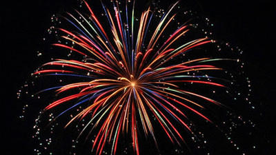 Fireworks and Independence Day celebrations around New Haven