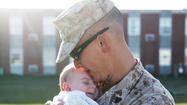 After a deployment, a Marine meets his match