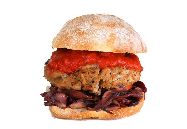 The Italian burger.