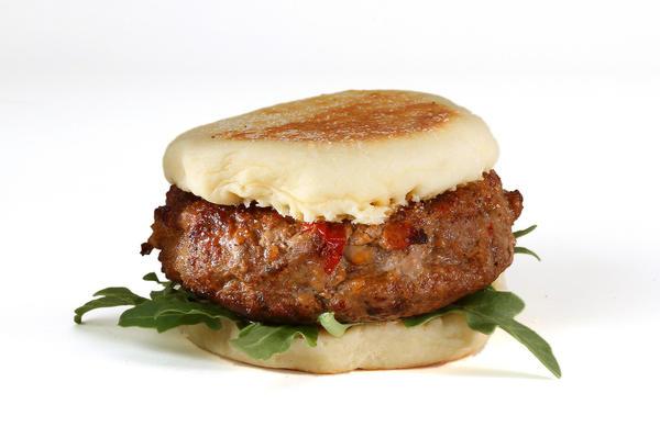 BLT&E burger.