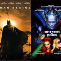 """8 years """"Batman Begins"""" takes over from """"Batman and Robin"""""""