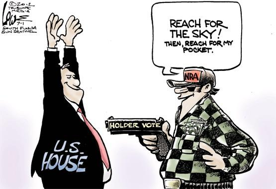 NRA and the Holder contempt vote