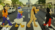 Two of the world's most recognized franchises have been melded together as Walt Disney World marks the 50<sup>th</sup> anniversary of the formation of The Beatles by creating a tribute/spin off of the famous Abbey Road album cover.