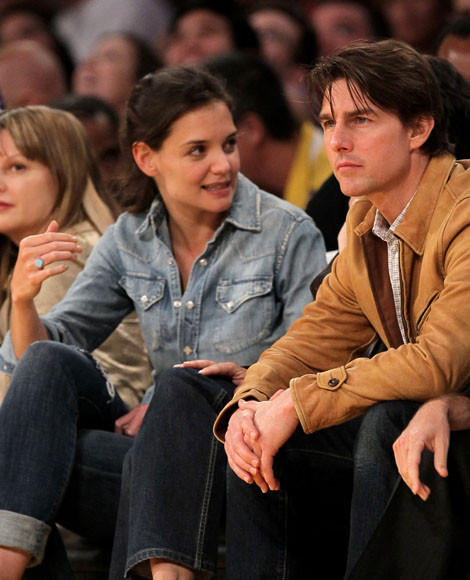 Tom Cruise and Katie Holmes divorce: A couple through the years: 2009