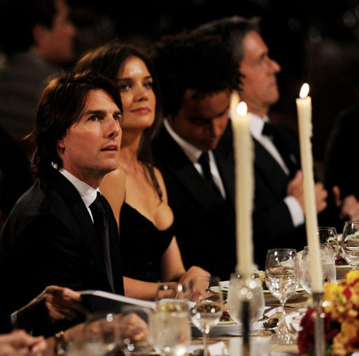 Tom Cruise and Katie Holmes divorce: A couple through the years: 2011