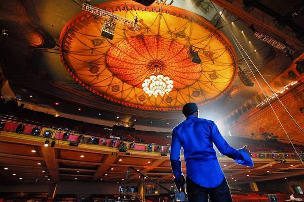 The BET Awards have been housed at the Shrine Auditorium but will move to the Nokia Theatre next year.