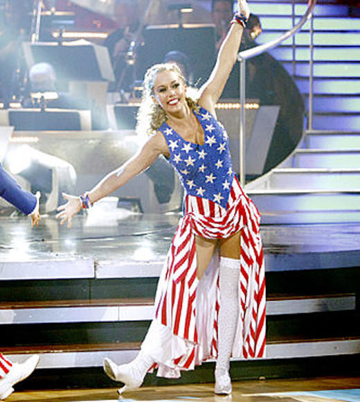 Red, White, Blue and Famous: Celebs in stars and stripes: Kendra Wilkinson