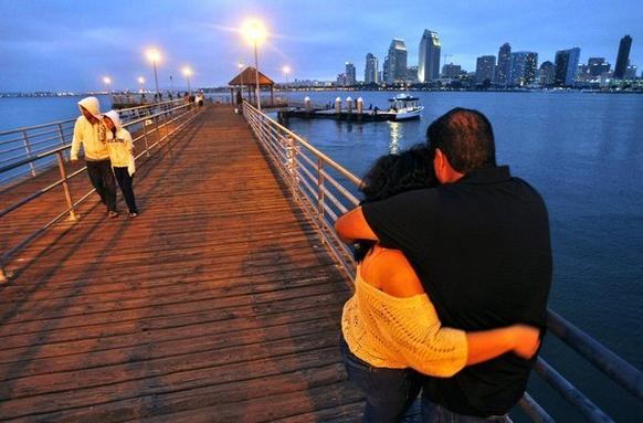 Don't tell San Francisco, but Coronado Ferry Landing in San Diego may have the most jaw-dropping city views in the state, including a snazzy skyline, Navy craft, the Coronado Bay Bridge and the traffic (sailboats to freighters) in the channel.