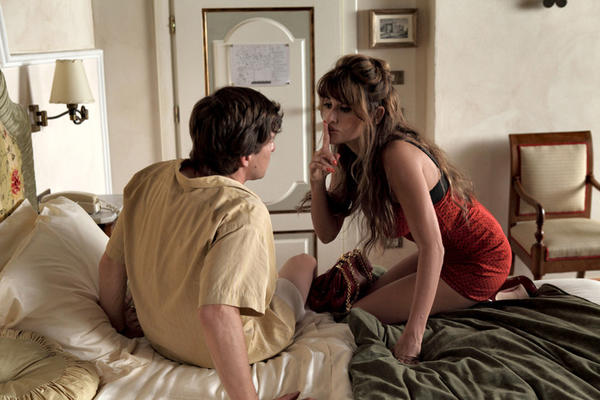 "Alessandro Tiberi and Penelope Cruz in a scene from Woody Allen's ""To Rome With Love."""