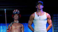 Channing Tatum and the shirtless brigade in 'Magic Mike'
