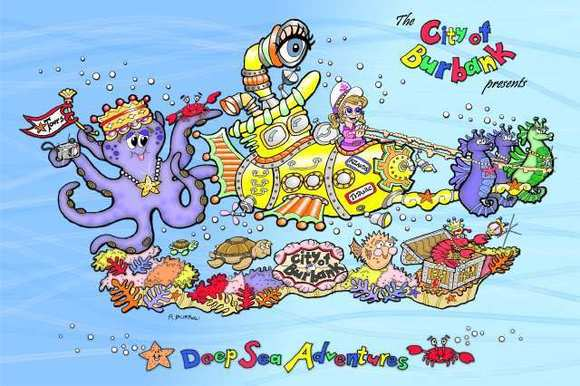 Deep Sea Adventures float