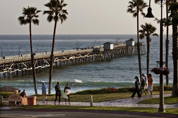 San Clemente Pier in Orange County