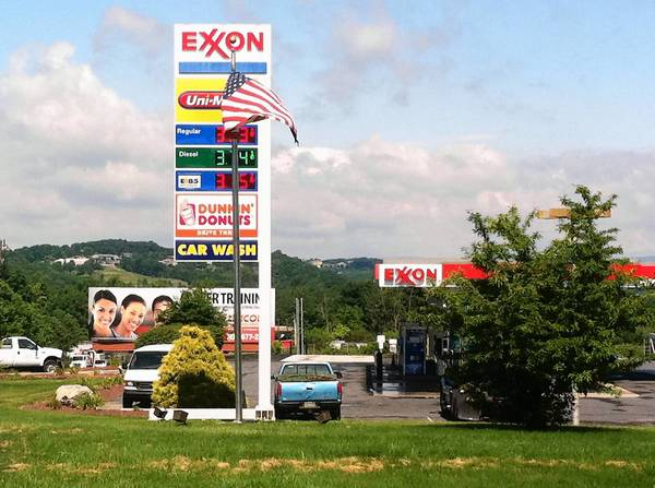 The South Whitehall Exxon station on Rt. 309 wants to become the first business in the region to sell compressed natural gas at the pump to the general public.
