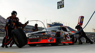 Pole-sitter Austin Dillon, driving the legendary No. 3 car, led most of the final 113 laps to win the NASCAR Nationwide Series race at Kentucky Speedway on Friday night.