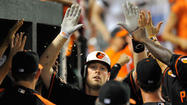 The Orioles desperately needed to go through a game like the one that played out Friday night against the Indians at Camden Yards — one that helps a sputtering offense regain life.