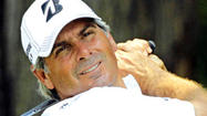 PITTSBURGH (AP) — The heat is on at the Senior Players Championship.