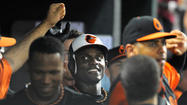 Night full of memories for Orioles rookie left fielder Xavier Avery