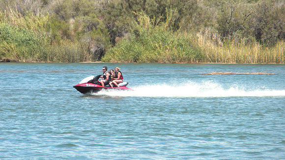 Picacho State Park a popular destination for watercraft enthusiasts.