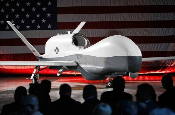 Northrop Grumman, which recently unveiled a new Navy surveillance drone, is among the companies that want looser restrictions on exports.