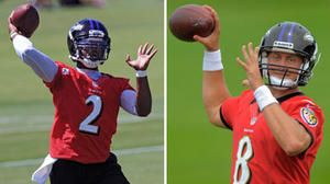 Competition for Ravens backup quarterback heats up