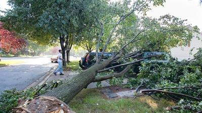 Nearly 16,000 still without power in Howard following punishing storms