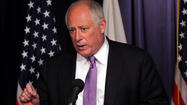 Gov. Pat Quinn signed a new state spending plan today, using the opportunity to try to pressure lawmakers into reforming public pensions, warning retirement funding is rapidly squeezing out dollars that otherwise could be available for schools, health care and social services.
