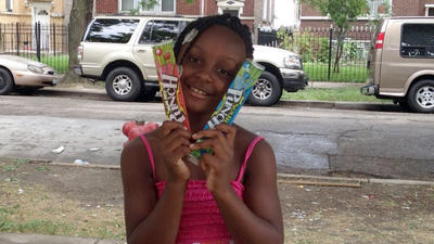 Man charged in slaying of 7-year-old girl selling candy