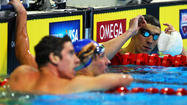 OMAHA, Neb. — You get on the blocks for the start of the 200-meter individual medley at the U.S. Olympic swimming trials, and you hear the meet announcer exclaim that the guys in the next two lanes have won a combined 77 world and Olympic medals.