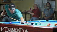 When Randy Jaragoske walks into the Aberdeen Cue Club to play pool, he is both playful and deadly serious.