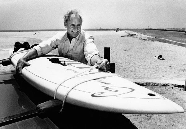 Jim Drake, a Santa Monica surfing and sailing enthusiast who was instrumental in developing a modified board that help spark the sport of windsurfing, has died in North Carolina. He was 83.