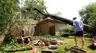 Photos: Severe storms hit Chicagoland