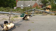 MORE PHOTOS: Storm cleanup efforts following Friday's storm