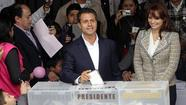 MEXICO CITY— Millions of Mexican voters Sunday were weighing whether to return a longtime ruling party to power, 12 years after replacing it with conservatives who have left many disillusioned with the nation's democratic transition.