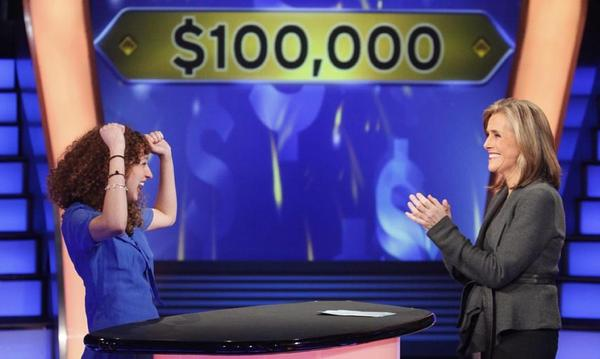 "Courtney Foley and Meredith Viera on ""Who Wants to be a Millionaire."""
