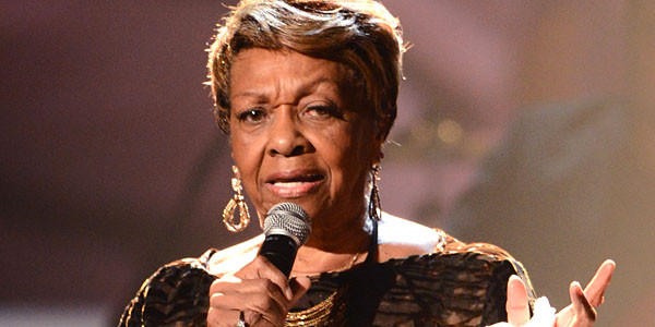 Cissy Houston, a Grammy-winning singer and mother of the late Whitney Houston, performs onstage during the 2012 BET Awards.