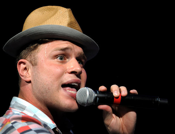 The teen pop sensation group One Direction opens the final show of their tour Sunday night at the Bank Atlantic Center.  Singer Olly Murs opens the concert.