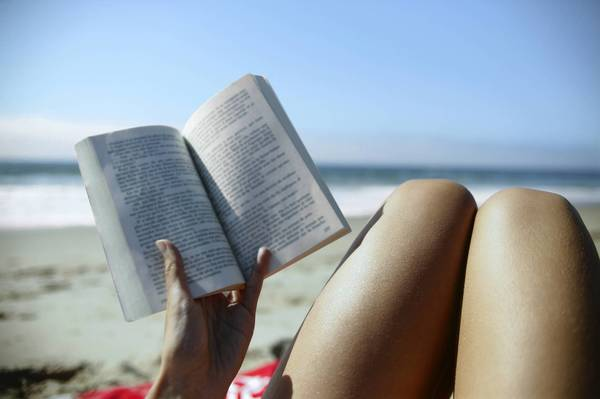 What is the perfect book for the beach?