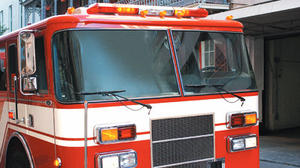 Hustonville Elementary School catches fire