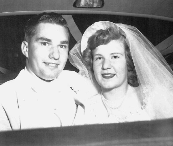 Mr. and Mrs. William Brown, 1952