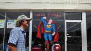 """Man of Steel"" isn't scheduled to hit theaters until June 14, 2013, but the city of Plano doesn't want to wait that long to capitalize on the Superman reboot that filmed last August in the Western suburb's downtown area."