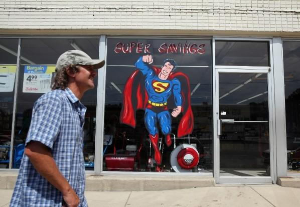 """Man of Steel"" in Plano"