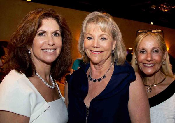 "Susan Maurer, left, Kathy Molinet and Dr. Marietta Glazer at the American Lung Association's annual ""Inspire Life, Breathe Free Luncheon & Fashion Show,"" which took place at Bonefish Grill Fort Lauderdale and raised more than $24,000."