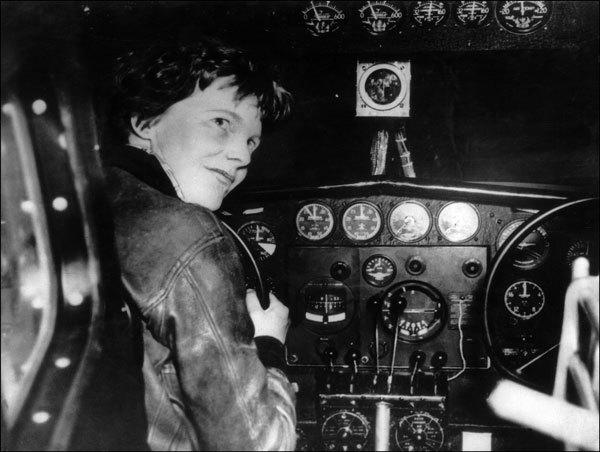 "An undated picture taken in the 1930' s shows American female aviator Amelia Earhart at the controls of her plane. Seventy-five years after Amelia Earhart disappeared over the Pacific, a research team is setting off July 2, 2012 with high hopes of resolving the mystery surrounding the pioneering aviatrix. For the tenth time in 23 years, the International Group for Historic Aircraft Recovery (TIGHAR) will set off for Nikumaroro island in Kiribati to establish whether Earhart survived the apparent crash of her aircraft. ""This time, we'll be searching for debris from the aircraft,"" TIGHAR's founder and executive director Richard Gillespie, himself a pilot and former aviation accident investigator, told AFP. Earhart vanished on July 2, 1937 at age 39 with navigator Fred Noonan during the final stage of an ambitious round-the-world flight along the equator in a twin-engine Lockheed Electra. The holder of several aeronautical records, including the first woman to cross the Atlantic by air, Earhart had set off from New Guinea to refuel at Howland Island for a final long-distance hop to California."