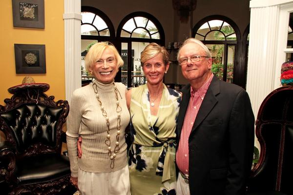 "Bobbi Horwich; left; Palm Beach Mayor, Gail Coniglio; and John Marshall at the Arthur R. Marshall Foundation's ""Summer Solstice Celebration,"" which took place at Cha Cha's Latin Fresh Kitchen & Tequila Bar located in Palm Beach."