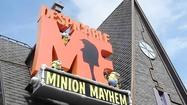 Despicable Me Minion Mayhem ride opens at Universal Studios
