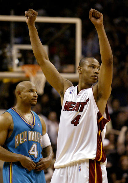 2. Caron Butler, 10th overall, Miami, 2002: Butler left UConn after two seasons and slipped in the lottery as NBA executives worried, needlessly, about his knees. Butler started 78 games for the Heat, averaging 15.4 points (second only to Eddie Jones' 18.5), 5.1 rebounds, 1.8 steals and 36.6 minutes. The team finished 25-57 and was seventh in the Atlantic Division. Butler was traded to the Lakers before the 2004-05 season along with Brian Grant, Lamar Odom and a draft pick for Shaquille O'Neal.