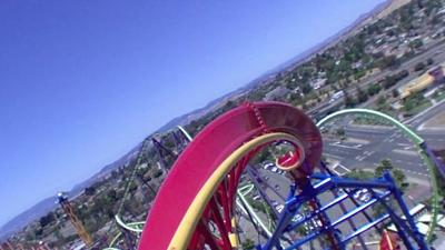 First major roller-coaster in a decade opens at Vallejo Six Flags