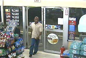 The search is on for an armed man who robbed a Circle K convenience store in Lake Worth