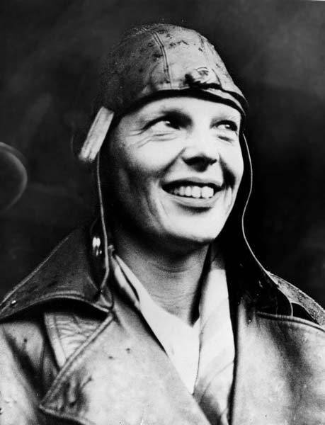 Amelia Earhart in 1932.