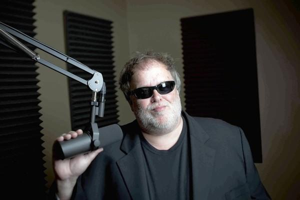 Tom Leykis in his Burbank studios.